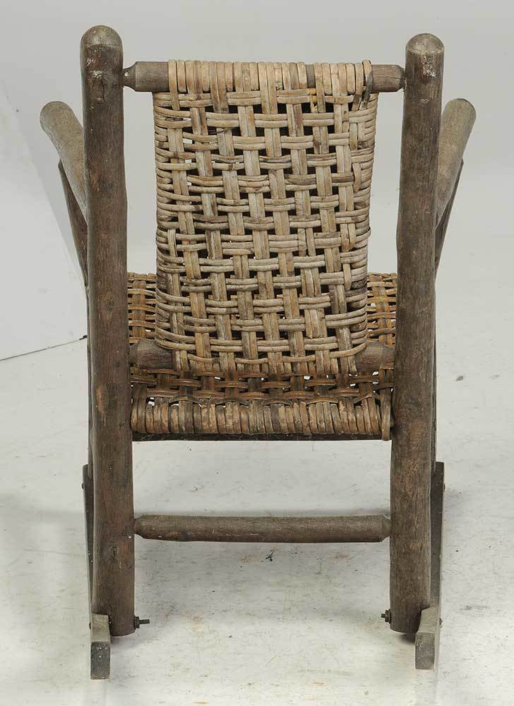 Two Vintage Old Hickory Chairs - Brunk Auctions Auctions