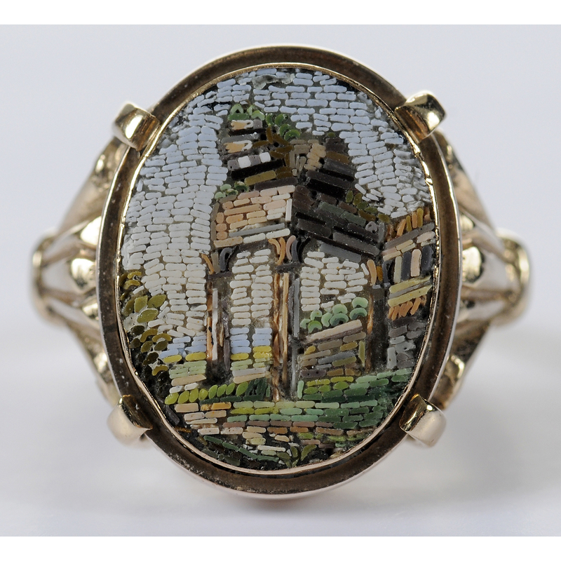 10kt. Micromosaic Ring