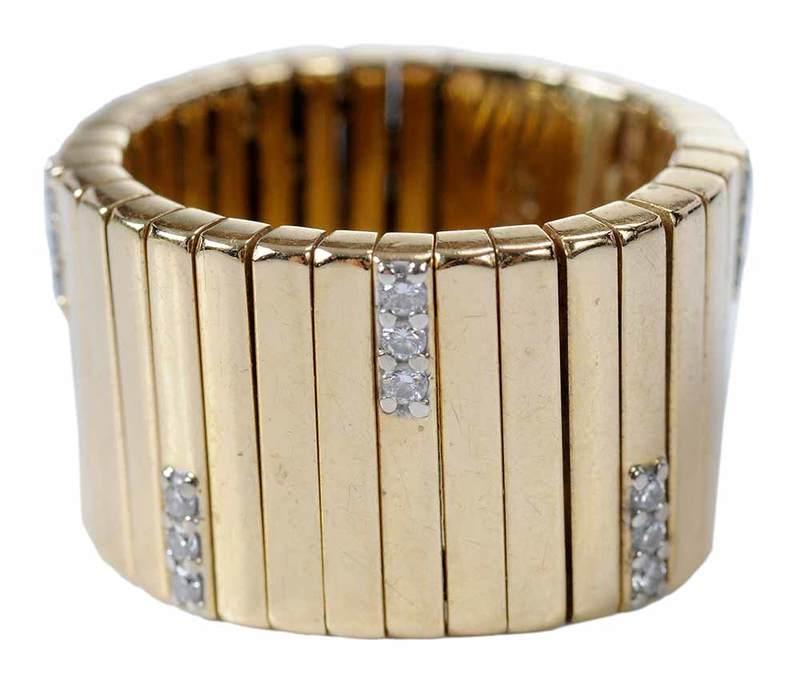 Roberto Coin 18kt. Diamond Ring