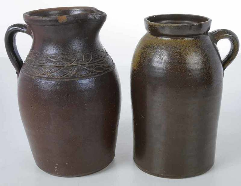 Two Pieces of Southern Stoneware