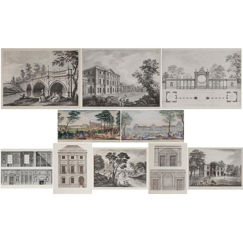 Ten Architectural Prints