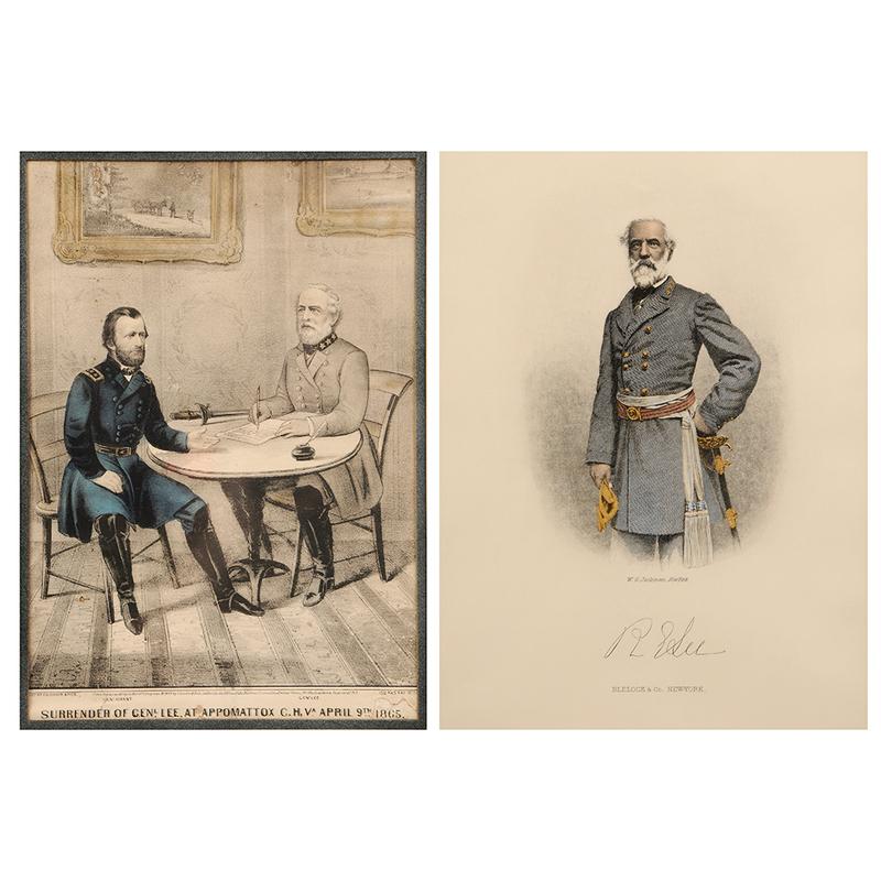 Two Robert E. Lee Framed Prints
