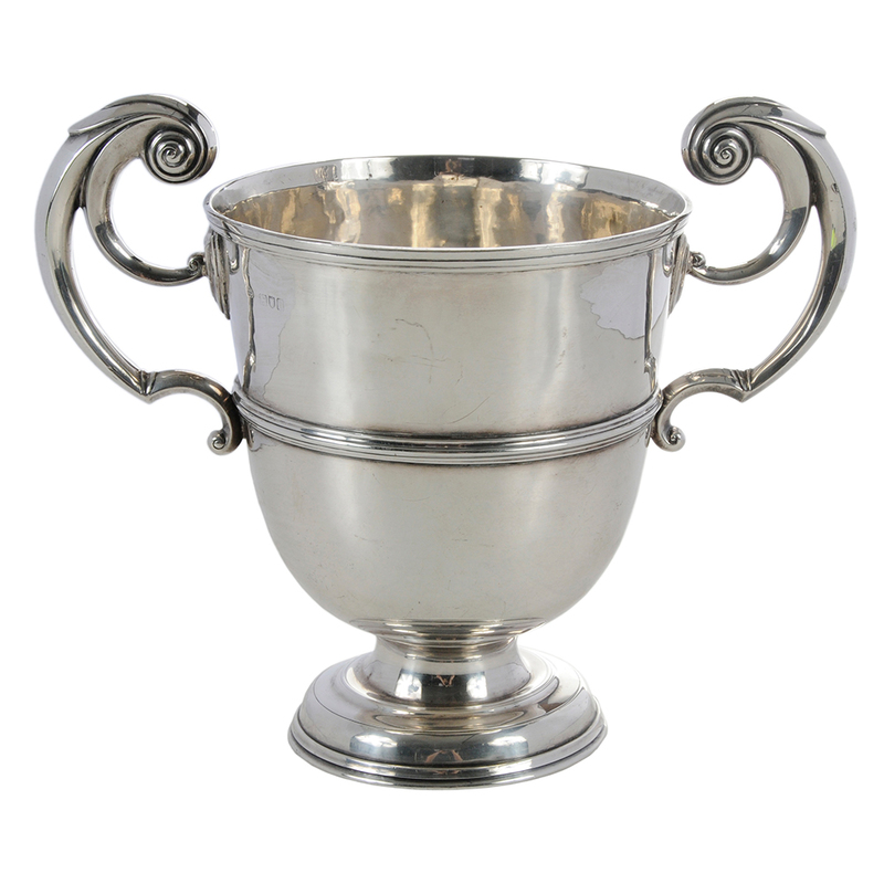 English Silver Loving Cup