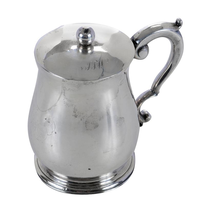 George II English Silver Mug