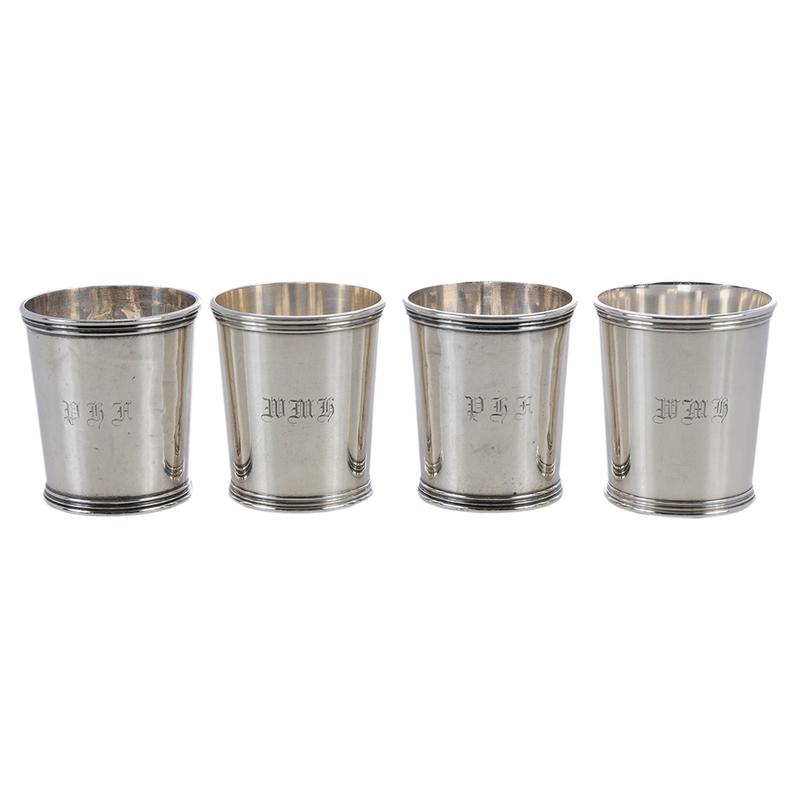 Set of Ten Sterling Mint Juleps