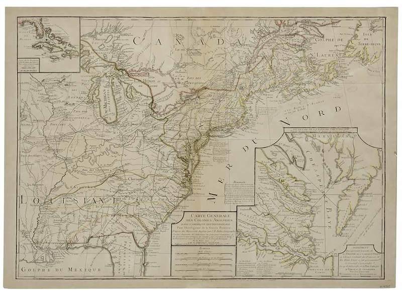 Phelipeau - Colonies Angloises Dans L'Amerique