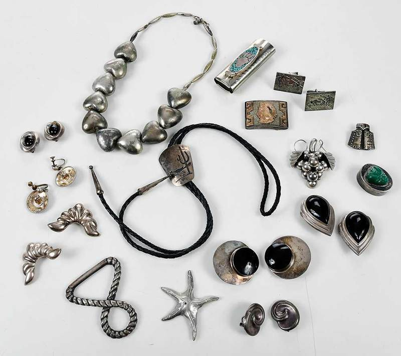 Group of Southwestern & Mexican Jewelry