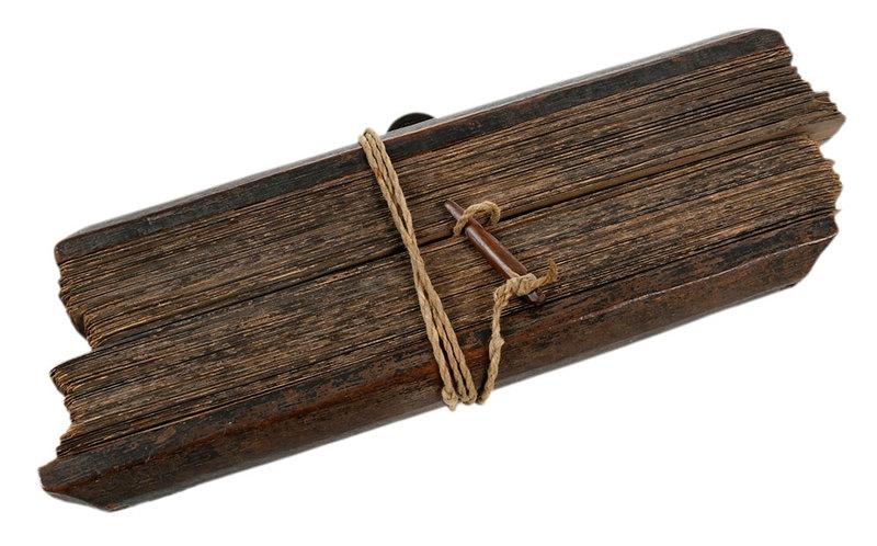 Sanskrit Wood Tablet or Scroll