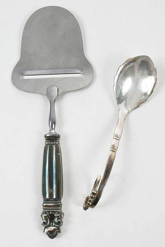 Two Jensen Sterling Pieces