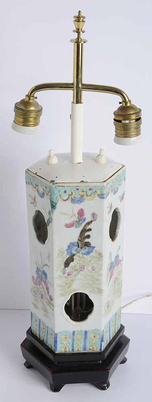 Enameled Porcelain Hat Stand