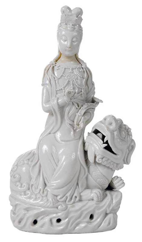 Blanc de Chine Figure of Kwanyin