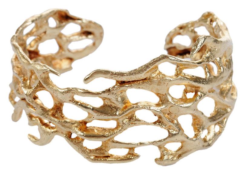 Ed Wiener 14kt. Cuff Bracelet