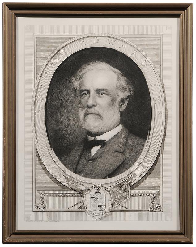 Bust Portrait of Robert E. Lee