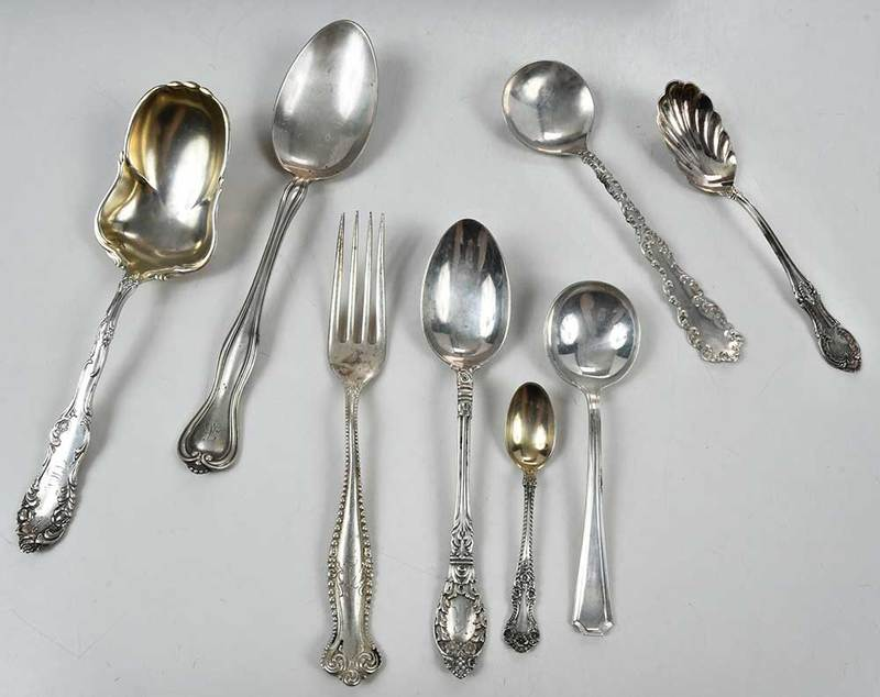 Appox. 59 misc. sterling flatware pieces