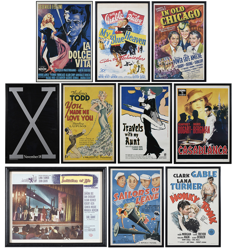 Group of Ten Theatrical Posters