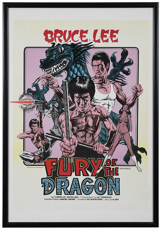 Bruce Lee in Fury of the Dragon