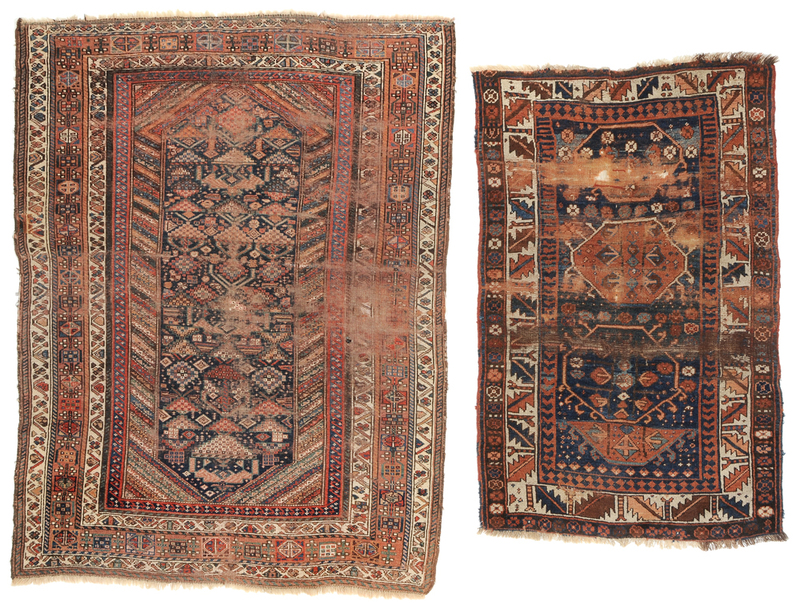 Two Caucasian Rugs