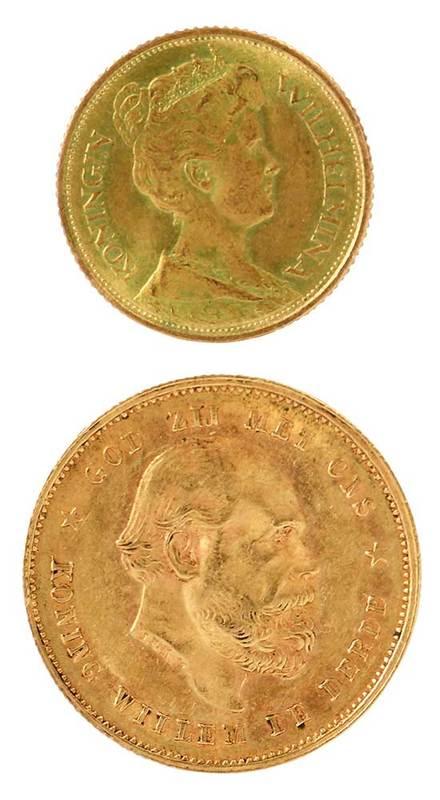 Two Dutch Gold Coins