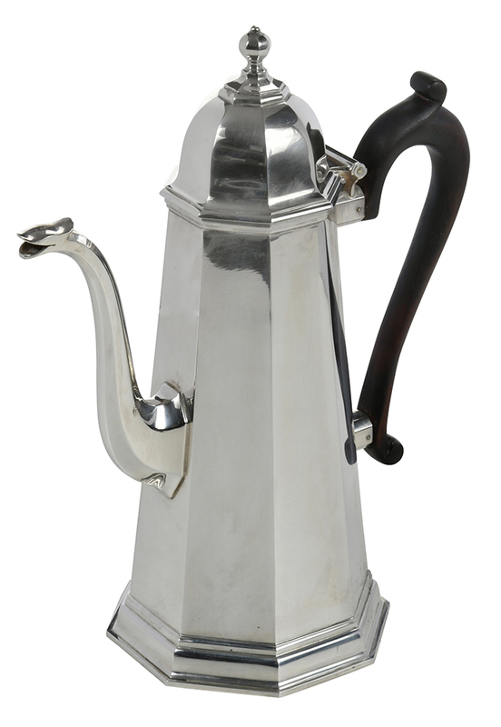 James Robinson Silver Coffee Pot