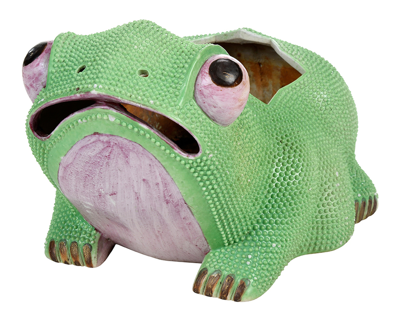 Chinese Export Ceramic Frog