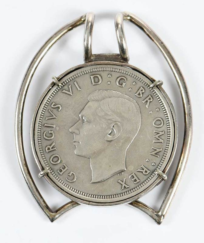 Pendant with Silver Coin