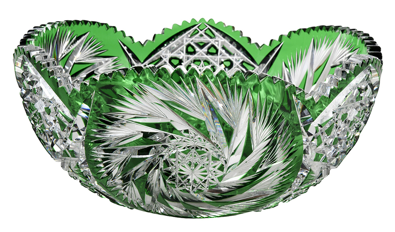 Brilliant Period Cut Glass Bowl