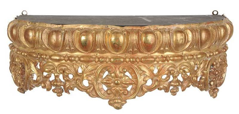 Brass Continental Bed Crown