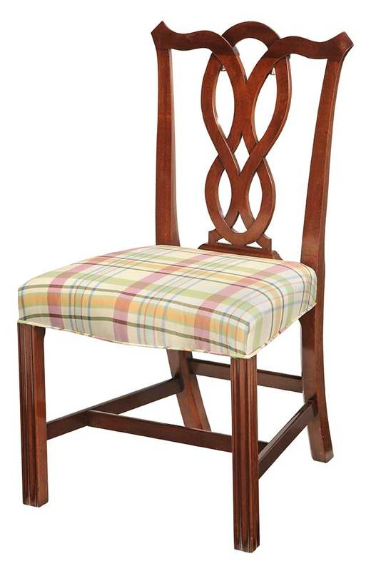 New York Chippendale Style Mahogany Side Chair