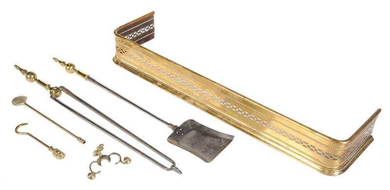 Brass Fender and Tools