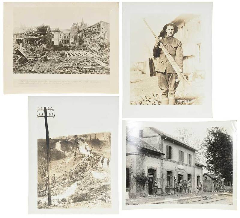 Large Group of WW I Photographs