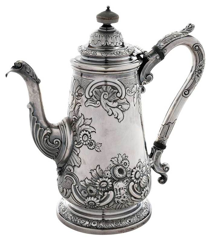 Sterling Coffee Pot