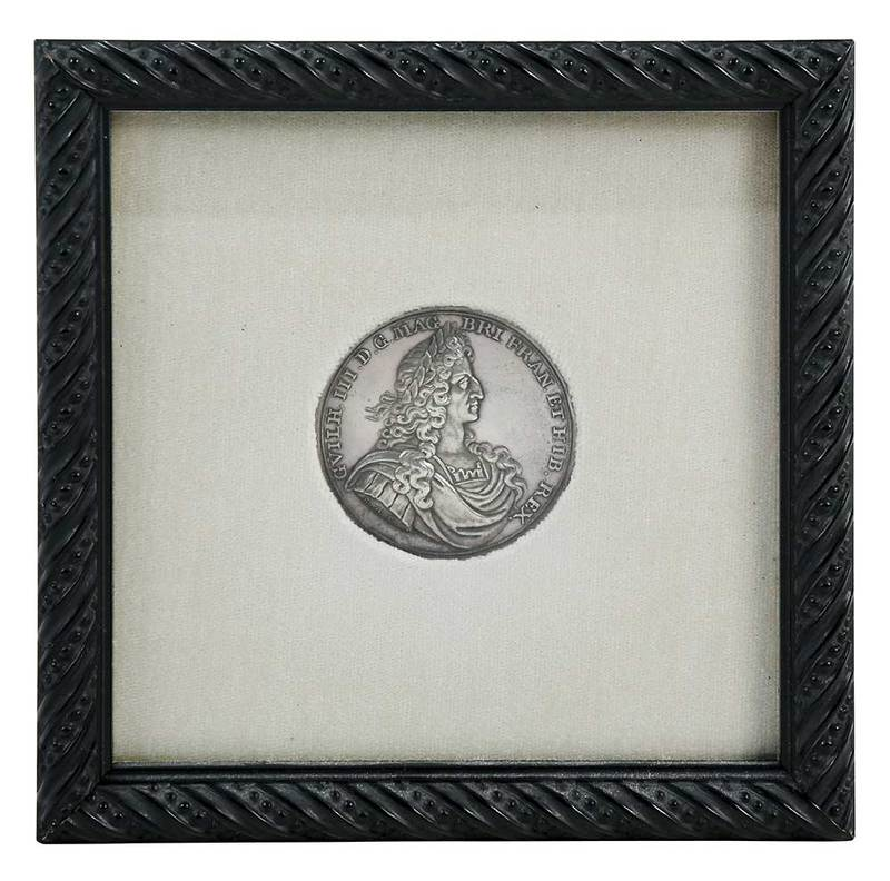 Silver Medal of William III, Dated 1690