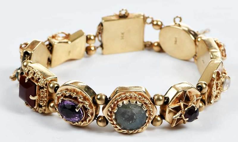 14kt. Slide Bracelet
