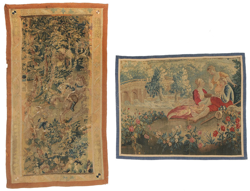Two Continental Tapestries