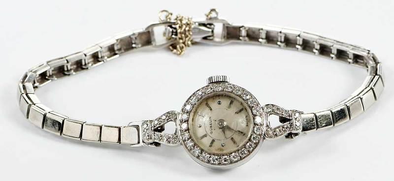 Gubelin 14kt. Diamond Watch