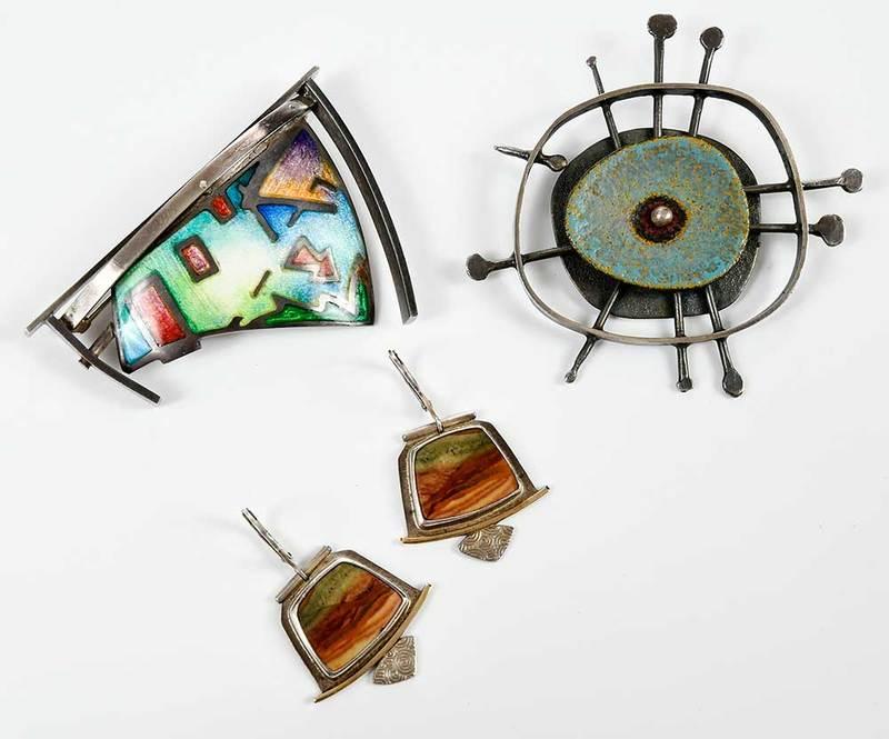 Three Pieces Artist Made Jewelry