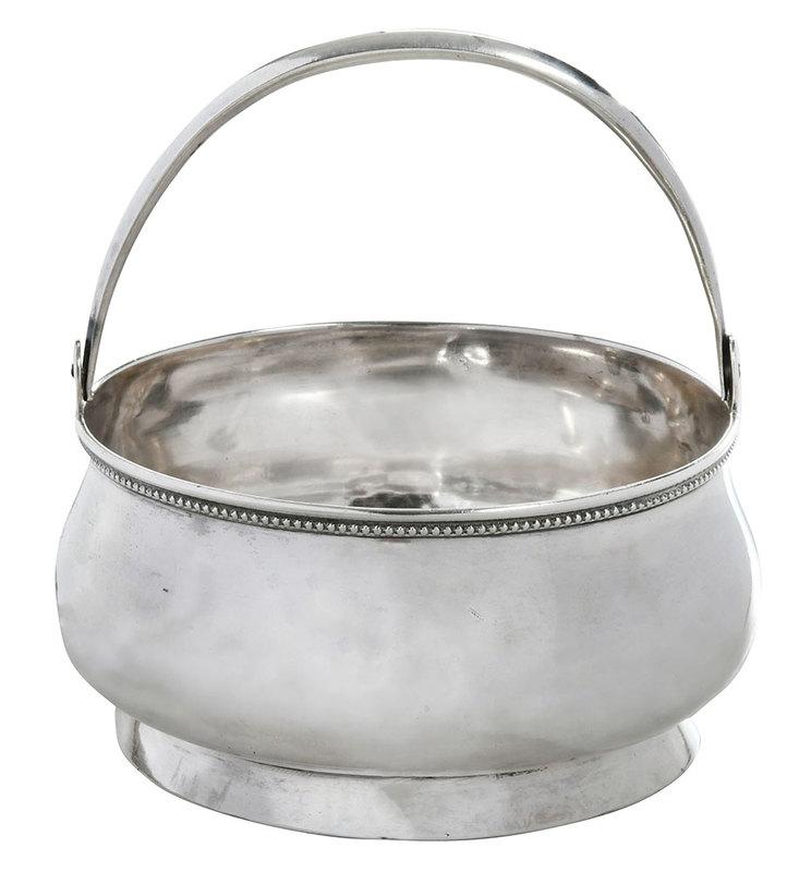 Russian Silver Basket