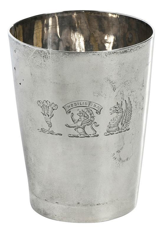 Georgian English Silver Cup