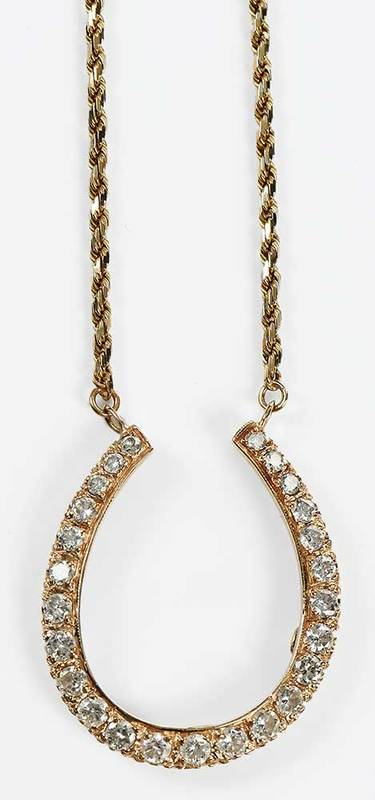 14kt. Diamond Necklace
