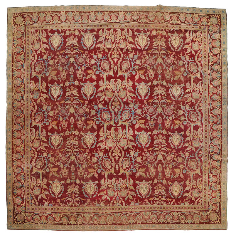 Persian Carpet of Square Proportions