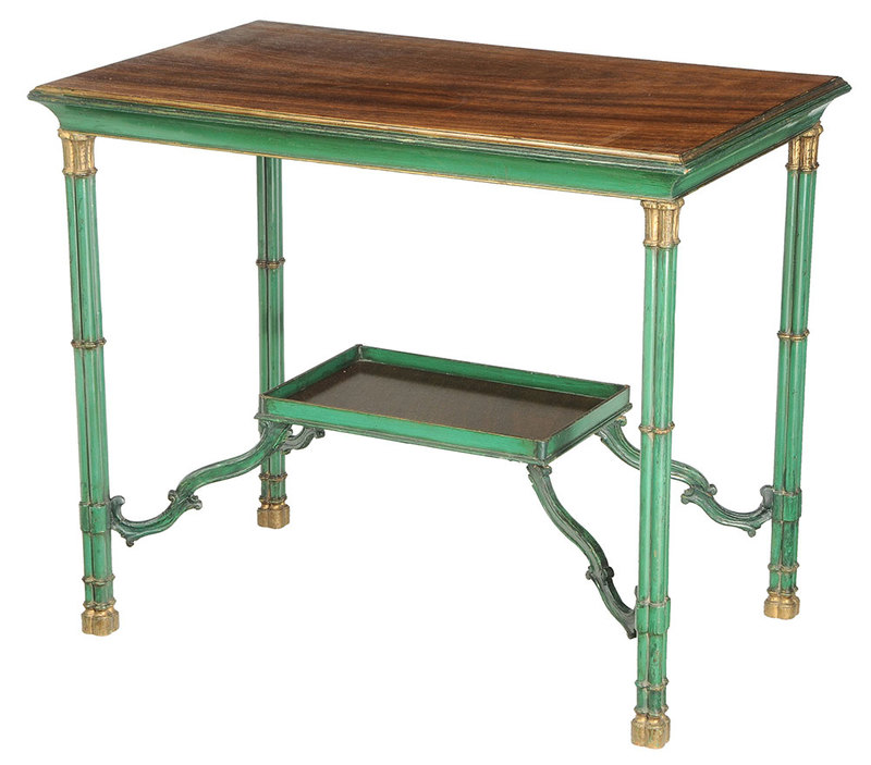 George III Style Silver Table