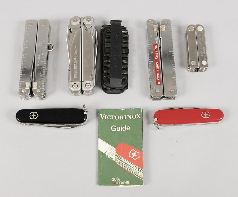 Leatherman, Victorinox Multi Tools and Knife