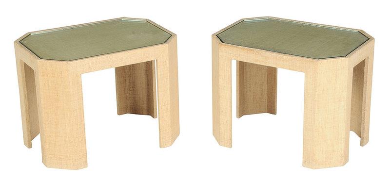 Pair Lorin Marsh Side Tables