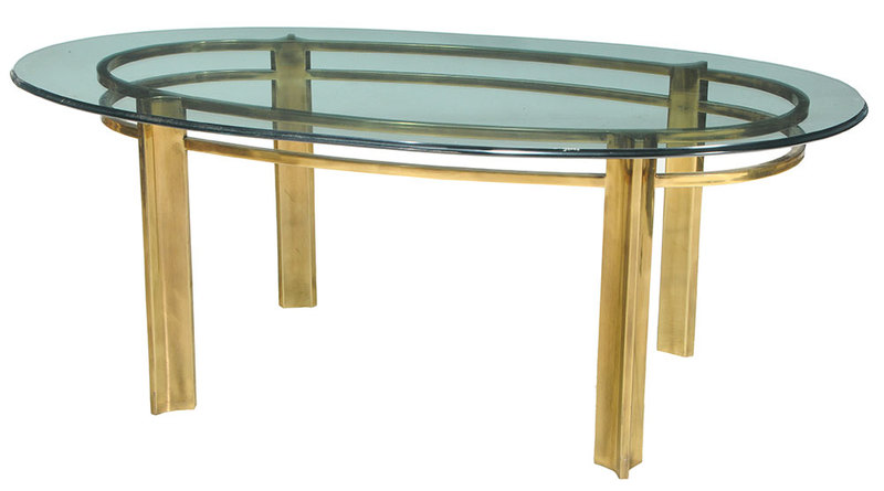 Mastercraft Glass Top Dining Table