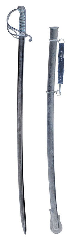Ames Model 1833 Dragoon Sabre and Scabbard