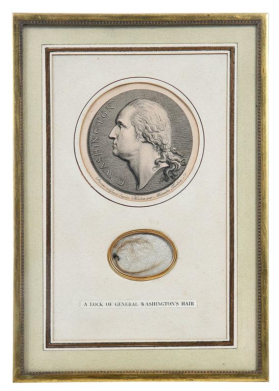 A Lock of George Washington's Hair
