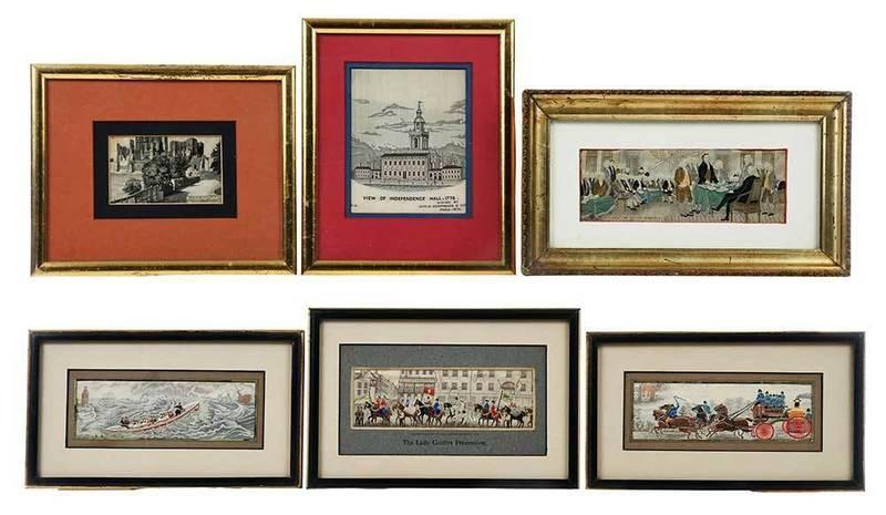Six Framed Stevensgraphs