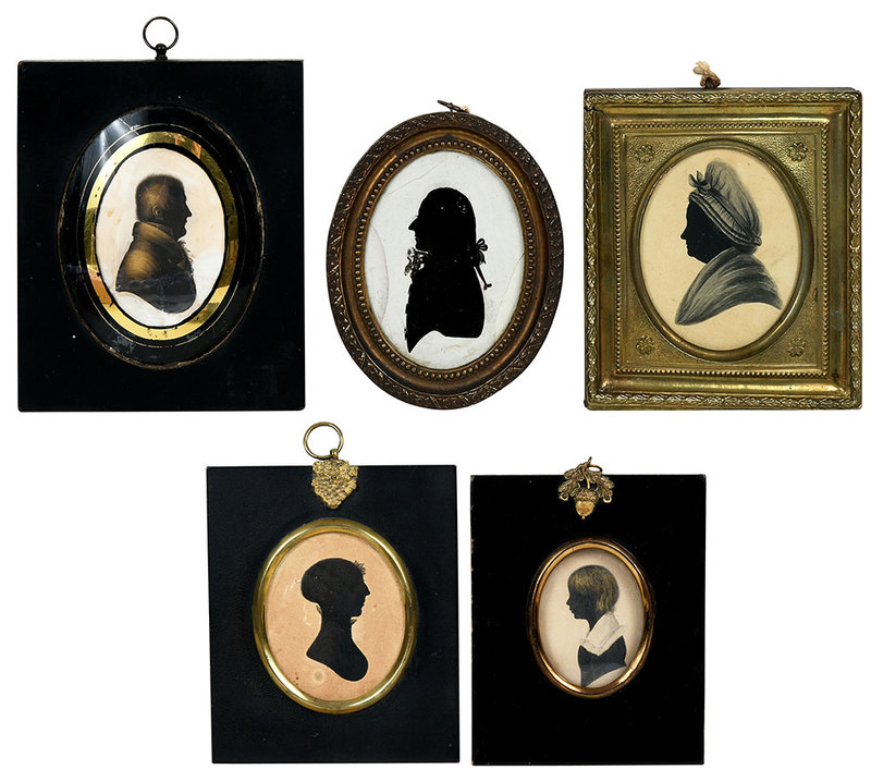 Five English Silhouettes