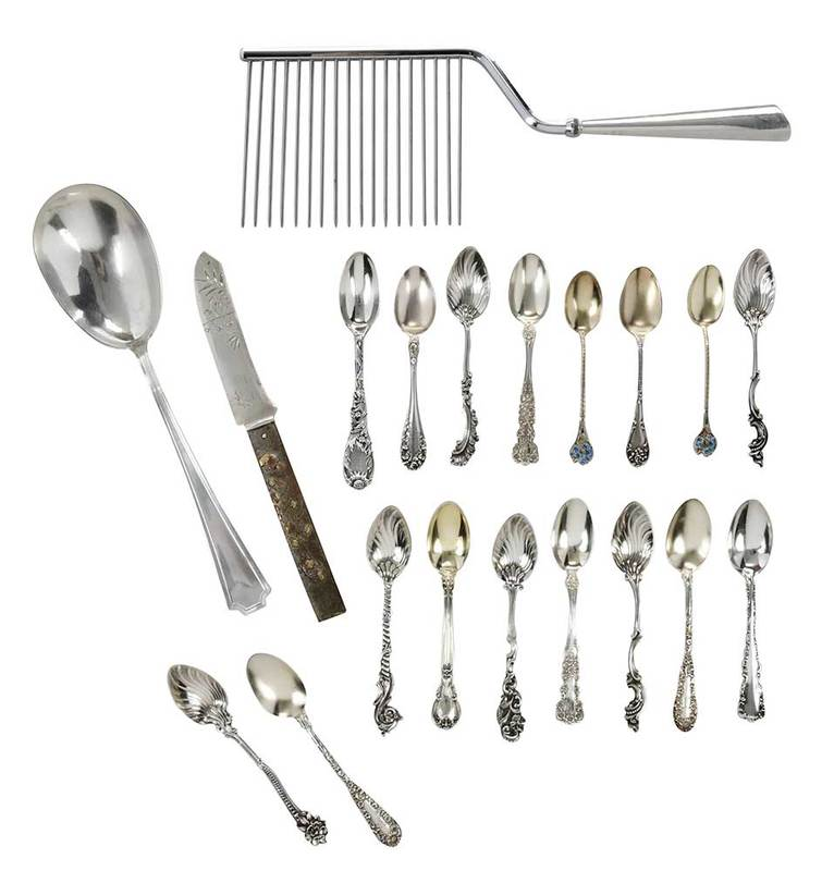 20 Pieces Assorted Sterling Flatware