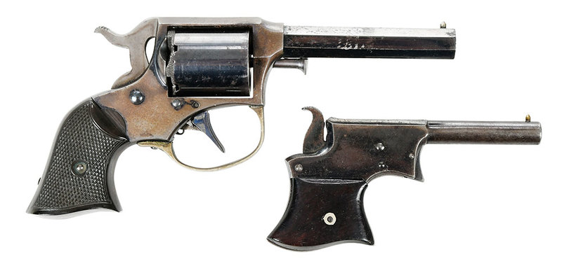 Two Remmington Pistols